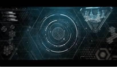 Interface Goo Sci Fi Grey Animation Ui