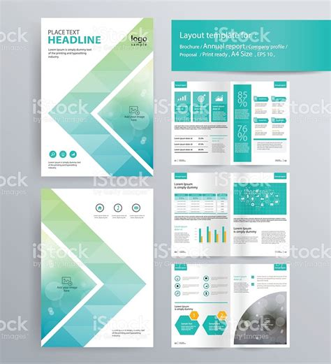 Brochure Layout Templates by Page Layout For Company Profile Annual Report And Brochure