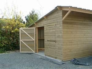 portes de garage 2 vantaux mc timonier charpente en kit With porte de garage 2 vantaux