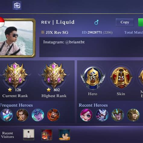 mobile legend rank mobile legend account ios mythical toys