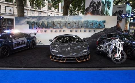 lamborghini transformer the last knight lamborghini centenario shines at transformers the last