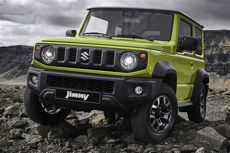 suzuki jimny confirmed  details revealed