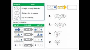 Diagrammatical  Aka Operational  Reasoning Test Example