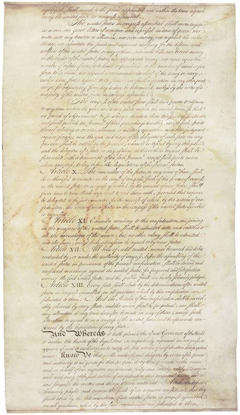 talkarticles  confederation  perpetual union