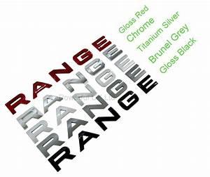 gloss red bonnet lettering for range rover evoque dynamic With range rover evoque lettering kit