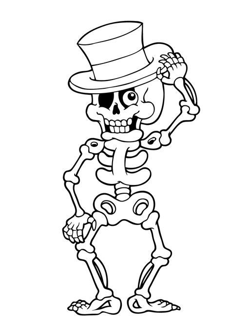 Kleurplaat Skelet Mens by 34 Spannende Kleurplaten O A Heksen En Spoken