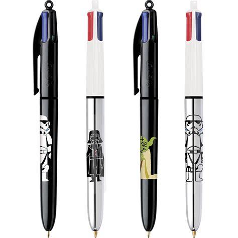 le de bureau wars bic 4 couleurs wars modèle aléatoire stylo feutre