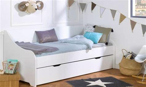 lit superpose blanc pas cher chambre avec lit mezzanine 2 places lit superpos enfant spark 90x200 cm ma chambre structure