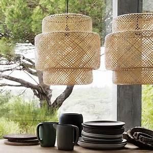 Abat Jour Bambou : suspensions abat jour bambou naturel ikea ~ Teatrodelosmanantiales.com Idées de Décoration