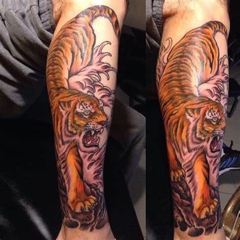 Japanese Tiger Tattoo  50 Traditional Design Ideas (2018
