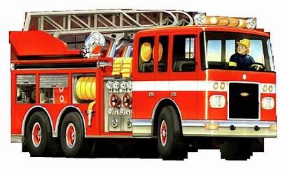 Fire Truck Firetruck Clipart Clip Cartoon Engine