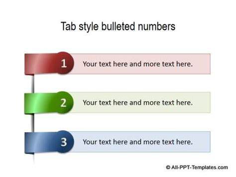 powerpoint list templates