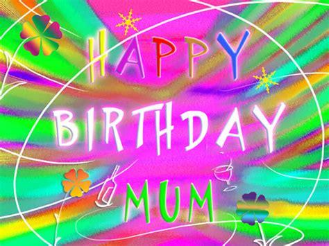 happy birthday mum  joyful text   mom dad ecards