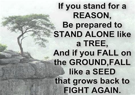 I Stand Alone By Godsmack by Fighting Back Quotes Inspirational Quotesgram