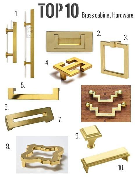 Mid Century Cabinet Knob by De 25 Bedste Id 233 Er Inden For Brass Hardware P 229 Pinterest