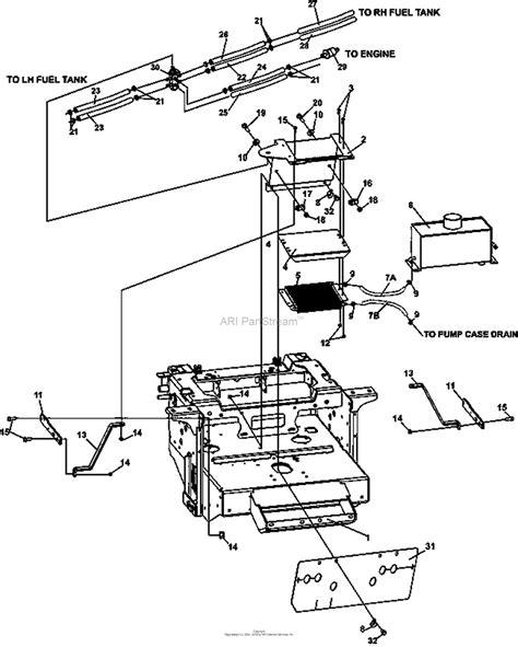 bunton bobcat ryan  predator pro hp kaw dfi  side discharge parts diagram  dfi