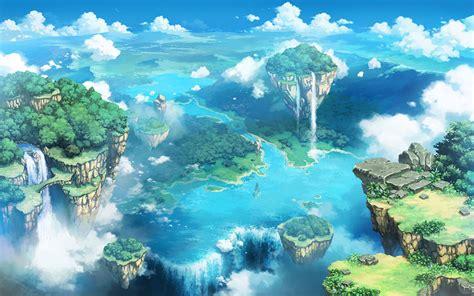 Anime Wallpaper Landscape - anime landscape wallpaper hd pixelstalk net