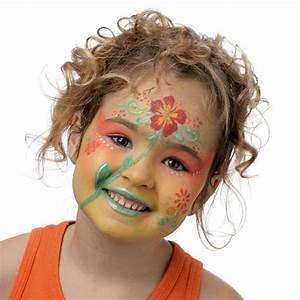 Maquillage Enfant Facile : maquillage enfant facile pochoir maquillage grim tout ~ Farleysfitness.com Idées de Décoration