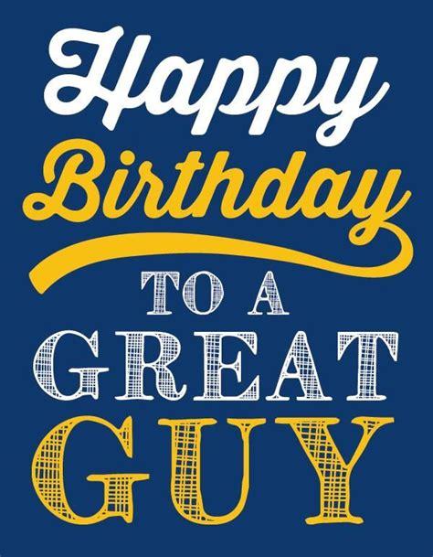 happy birthday   great guy greeting card happy