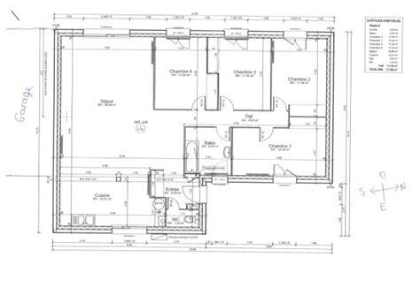 plan maison plain pied 120m2
