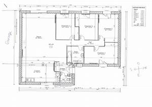 plan maison plain pied 120m2 With plan maison plain pied 120m2