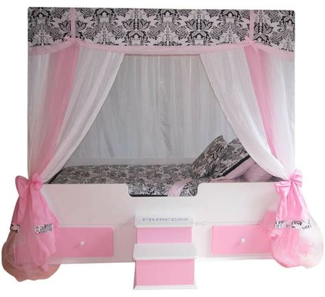 canopy beds girls princess canopy bed bed bedroom furniture ebay