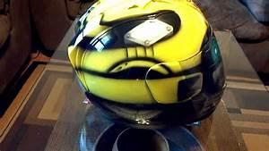 Custom, Painted, Bumblebee, Transformers, Helmet