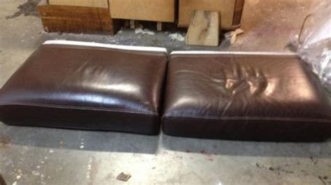 coussin pour canapé cuir rembourrage assise canapé cuir à toulon restauration