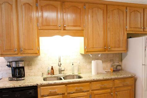 how to put backsplash in kitchen orange oak cabinet makeover the lettered cottage 8835