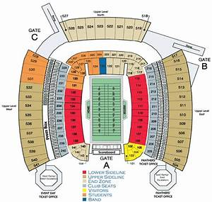 Everbank Field Seating Chart With Rows