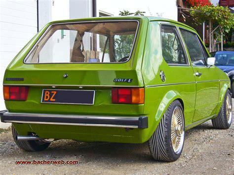 Vw 1er Golf G40 Tuning  Original Golf 1 Tuningberichte