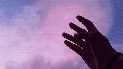 Sad Aesthetic Gifs Hands Tenor Mp4 Sky