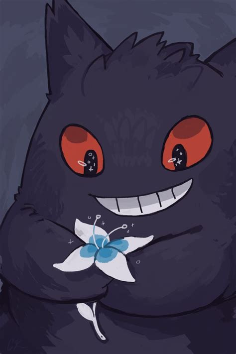gengar phone background  rinnai raideviantartcom