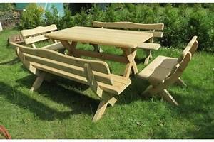 Bootslack Für Holz : holz sitzgruppe f r den garten massivholz garnitur gartenm bel neu f r bis zu 10 personen in ~ Orissabook.com Haus und Dekorationen