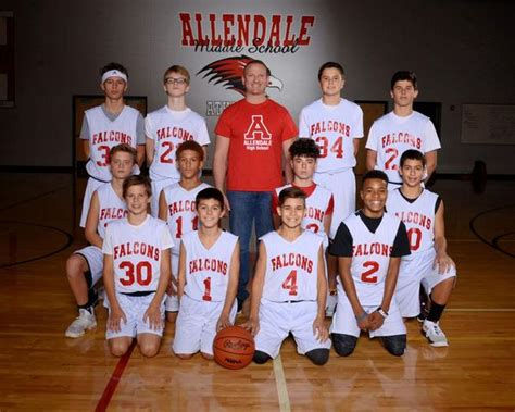 allendale high school boys team basketball winter schedule