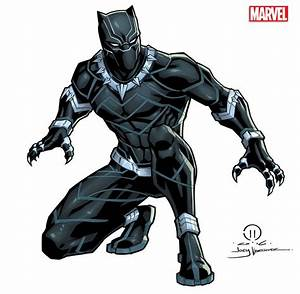 Black Panther licensing art by JoeyVazquez | Marvel ...