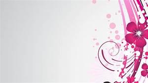 Floral Texture Gradient Background Graphics Lilies Ve