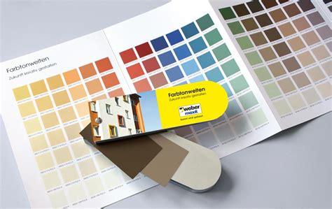 brillux farbpalette pdf neue farbtonkollektion weber maxit bunte putzfassade farbiger putz