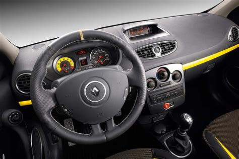 renault clio iii rs 2009 interieur