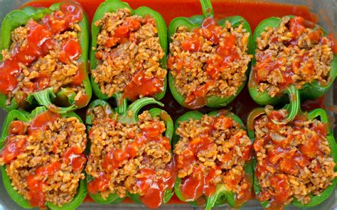 stuffed peppers with rice stuffed bell peppers without rice