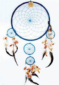 36 INCH ROUND TURQUOISE BLUE HUGE DREAM CATCHER large