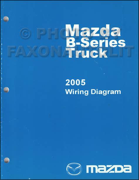 Mazda Pickup Truck Wiring Diagram Manual Original