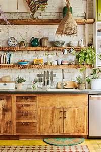 kitchen, ideas, for, boho, chic