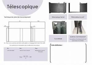 Portail Coulissant 2 Vantaux : ventes de portail coulissant t lescopique 2 3 vantaux ~ Edinachiropracticcenter.com Idées de Décoration