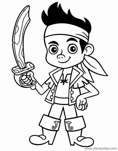 Jake Pirates Coloring Neverland Pirat Kolorowanka Pirate