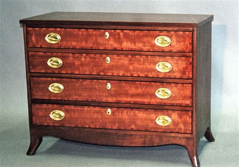 Handmade Federal Style Chest By Mt. Airy Custom Furniture