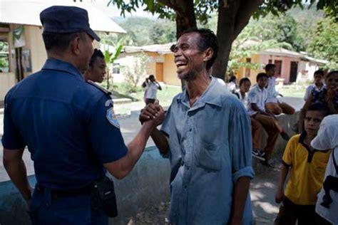face  policing  timor leste  asia foundation