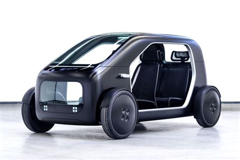 Auto Electric Car by Biomega Electric Vehicle Is Radically Simple Curbed