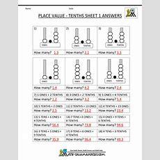 Decimal Place Value Worksheets 4th Grade