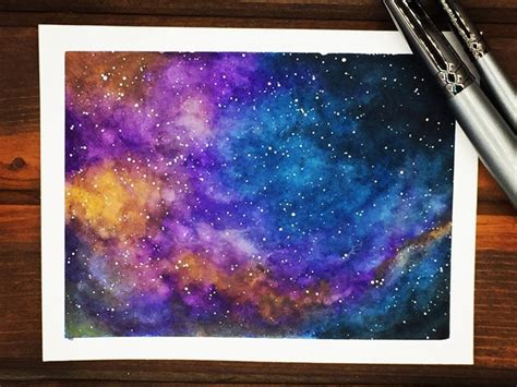 startling acrylic galaxy painting ideas